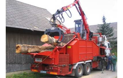 Wood Chippers | Strachl | Ireland & UK | R&S Biomass